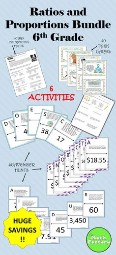 Percent Problems Partner Worksheet and Puzzle Math for Sixth Grade