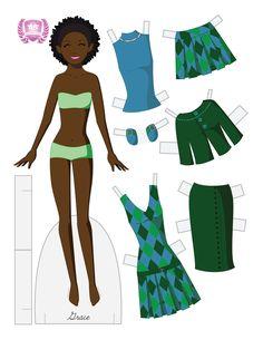paper dolls deviantart | Grace Fashion Paper Doll by ~ juliematthews