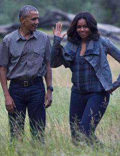 Love is ... enjoying each other's presence. POTUS and FLOTUS Obama