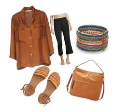 """""""Road Trip"""" by debbie-fox on Polyvore featuring Red Camel, Billabong, FOSSIL, La Prestic Ouiston and Skin"""