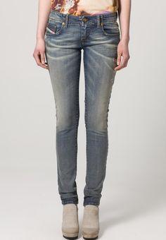 Diesel - GRUPEE - Slim fit jeans - Blauw