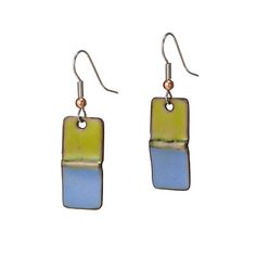 Look what I found at UncommonGoods: foldform enamel earrings... for $38 #uncommongoods