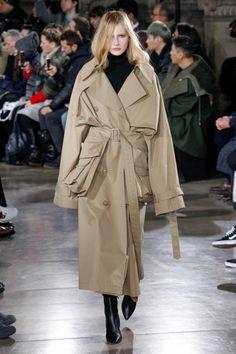 veste trench femme long aux poches énormes