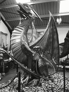 #Dragons at The British Ironworks Centre #Shropshire #UK #FamilyDayOut