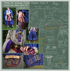 Viking outfit project cont. II by =zorm on deviantART