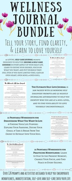 CLICK THE PIN to find out how to be happy, how to be confident, how to love yourself, & how to find peace in daily life... all on your own terms! Get over 120 prompts and activities to help you practice self-care, self-love, mindfulness, and manifestation to create a life you love and create a morning ritual at the same time!
