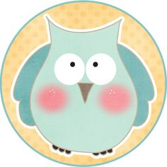 MAKE YOUR OWN CUTE DECORATION - Funny Owls #6