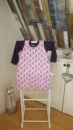Kleider - Tunika/Kleid 98/104 Pinguine - ein Designerstück von GuteUte bei DaWanda