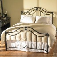 Montgomery Iron Bed by Wesley Allen
