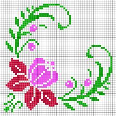 media content and analytics Beaded Cross Stitch, Cross Stitch Borders, Cross Stitch Rose, Cross Stitch Alphabet, Modern Cross Stitch Patterns, Cross Stitch Flowers, Cross Stitch Designs, Cross Stitching, Cross Stitch Embroidery