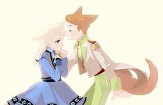 Little Hans and Little Elsa - Helsa