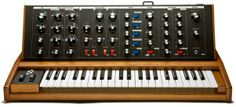 MOOG.  Voyager Old School, the best Voyager ever made. All analog, great controller for modular systems.