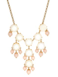 @BaubleBar has a bubble necklace lookalike and only $38!