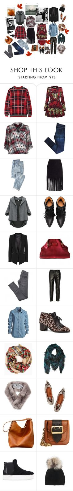 """FALL"" by stephanie-nina ❤ liked on Polyvore featuring Rika, Miu Miu, Marc by Marc Jacobs, River Island, rag & bone, Wrap, ThePerfext, Alexander McQueen, April 77 and J Brand"