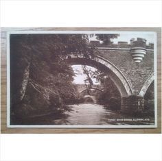 Postcard: Ayrshire, Alloway, Three Brigs O'Doon: c1918-39 Listing in the Ayrshire,Scotland,Topographical,Postcards,Collectables Category on eBid United Kingdom