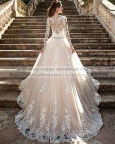 Кружевное свадебное, бальное платье белое кремовое свадебное платье нестандартного размера 6-8-10-12-14-16-18+ +