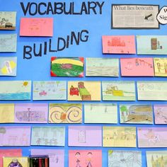 """Students select two unfamiliar and interesting words from their own reading. After becoming """"expert"""" or """"master"""" of these words students design a card which provides a series of clues so that a partner (who does not know the secret words) can guess the words."""
