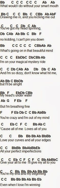 Flute Sheet Music: All Of Me Click the link below the picture for the rest of it