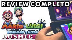 Sonhando com Mario & Luigi: Dream Team do 3DS?