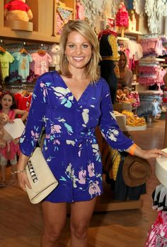 Candace Cameron Bure at the Opening at the Disney Store
