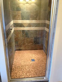 Penny Floor in the Shower - ALL Heads Up http://abuildingweshallgo.blogspot.com/2013/04/heads-up.html get the money to do this by working from home...realizeyourdreams2014.ws