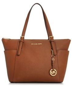 Love the Iris colored one MICHAEL Michael Kors Jet Set East West Top Zip Tote