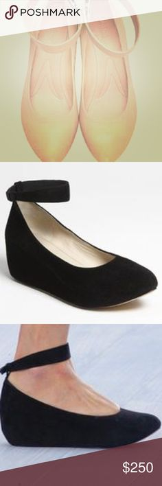 Selling this Chloe Suede Hidden Wedge Ankle Strap  pumps EU 35 on Poshmark! My username is: chickikay. #shopmycloset #poshmark #fashion #shopping #style #forsale #Chloe #Shoes