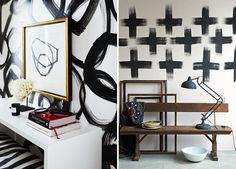 freestyle Painted Patterned Walls