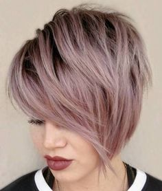 Short Wedge Haircut, Short Wedge Hairstyles, Edgy Short Haircuts, Stacked Haircuts, Layered Hairstyles, Hairstyles Haircuts, Trending Hairstyles, Short Hair Cuts For Women, Short Hair Styles