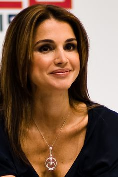 Queen Rania of Jordan. total LILF