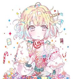 Discovered by 【ETNA】. Find images and videos about anime, sweet and kawaii on We Heart It - the app to get lost in what you love. Anime Girl Cute, Beautiful Anime Girl, Kawaii Anime Girl, Anime Art Girl, Anime Girls, Anime Chibi, Manga Anime, Anime Angel, Manga Girl