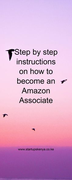 How to be an Amazon Affiliate Associate