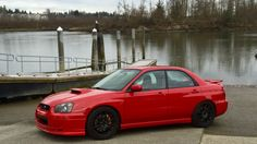 My 2004 SanRemo red. #subaru #wrx #sti #impreza #forester #subie