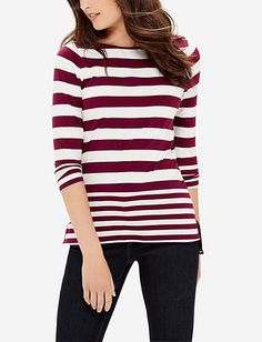 Striped Boatneck Top from THELIMITED.com
