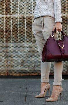 Brooklyn Blonde (Helena) in nude suede Anouk Burgundy Handbags, Burgundy Bag, Burgundy Outfit, Brooklyn Blonde, Gucci Purses, Gucci Handbags, Thing 1, Red Bags, Jimmy Choo Shoes
