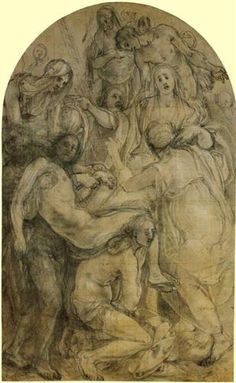 The Deposition - Jacopo Pontormo