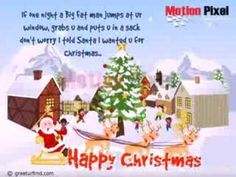 """May the joy and peace of Christmas be with you all through the Year. Wishing you a season of blessings from heaven above. """"Happy Christmas"""""""