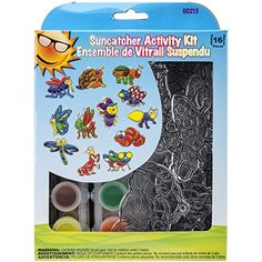 Suncatcher Group Activity Kit Insects 12Pkg >>> You can find more details by visiting the image link.-It is an affiliate link to Amazon. #CraftKits