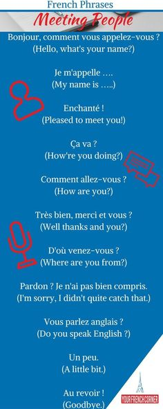 Are you Traveling to a French speaking country soon? It is time to kick off your French language learning journey. Here are 61 French Phrases For Travelers. French Basics, French For Beginners, French Class, French Language Lessons, French Language Learning, German Language, Spanish Lessons, Japanese Language, Spanish Language