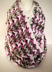 Ravelry: Enchanted Infinity Scarf pattern by HarvesterProducts