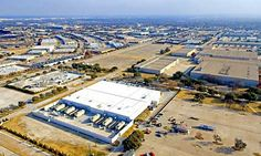 An aerial view of the massive Digital Realty Data Center Park in Richardson, Texas.