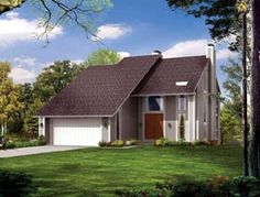 Contemporary House Plan 99243 Elevation