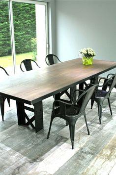 """Table industrielle """"EIFFEL"""""""