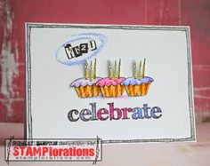 shirley-bee's stamping stuff: Blog Hop Reminder - Cupcakes