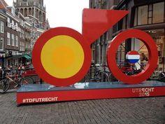 Aftellen naar start TDF2015 #LeTourUtrecht #TDFutrecht in Utrecht