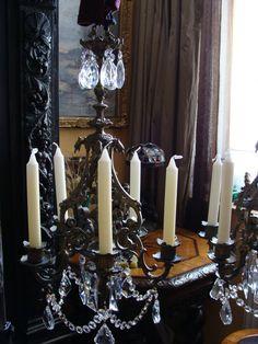 Paar Kronleuchter Deckenlampe Historismus Leuchter Bronze Gründerzeit Kandelaber in Antiquitäten & Kunst, Metallobjekte, Bronze…
