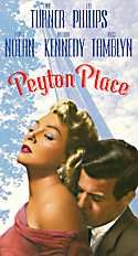 Peyton Place-For its time, both the novel and the TV series were seen as highly risque. Sexy stuff for the Fifties and Sixties. I saw some of them-my mother watched it. :)