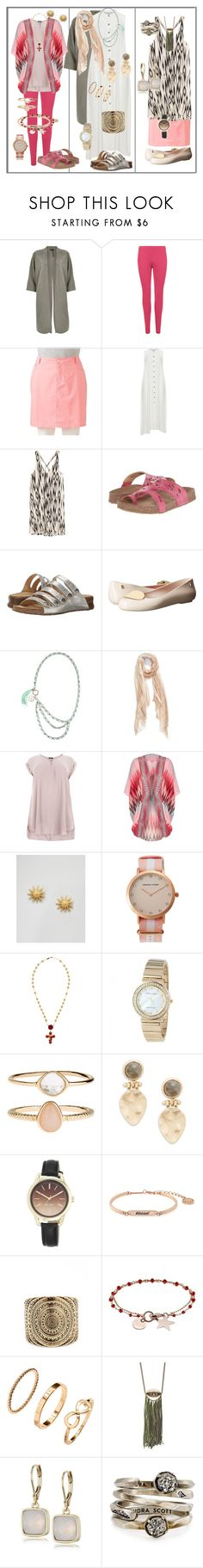 """""""Real Women: Outfit Ideas"""" by dundiddit ❤ liked on Polyvore featuring River Island, WearAll, Croft & Barrow, Mat, Haflinger, Melissa, Relish, Nordstrom, New Look and Dogeared"""