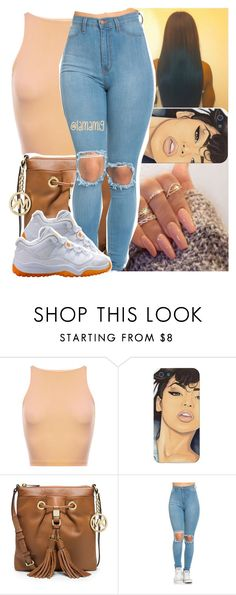 """#100happydays .. #day24"" by lamamig ❤ liked on Polyvore featuring MICHAEL Michael Kors and NIKE"