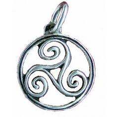 Triskel Bretagne. I love the triskel! A Celtic symbol for earth, water, and sky.